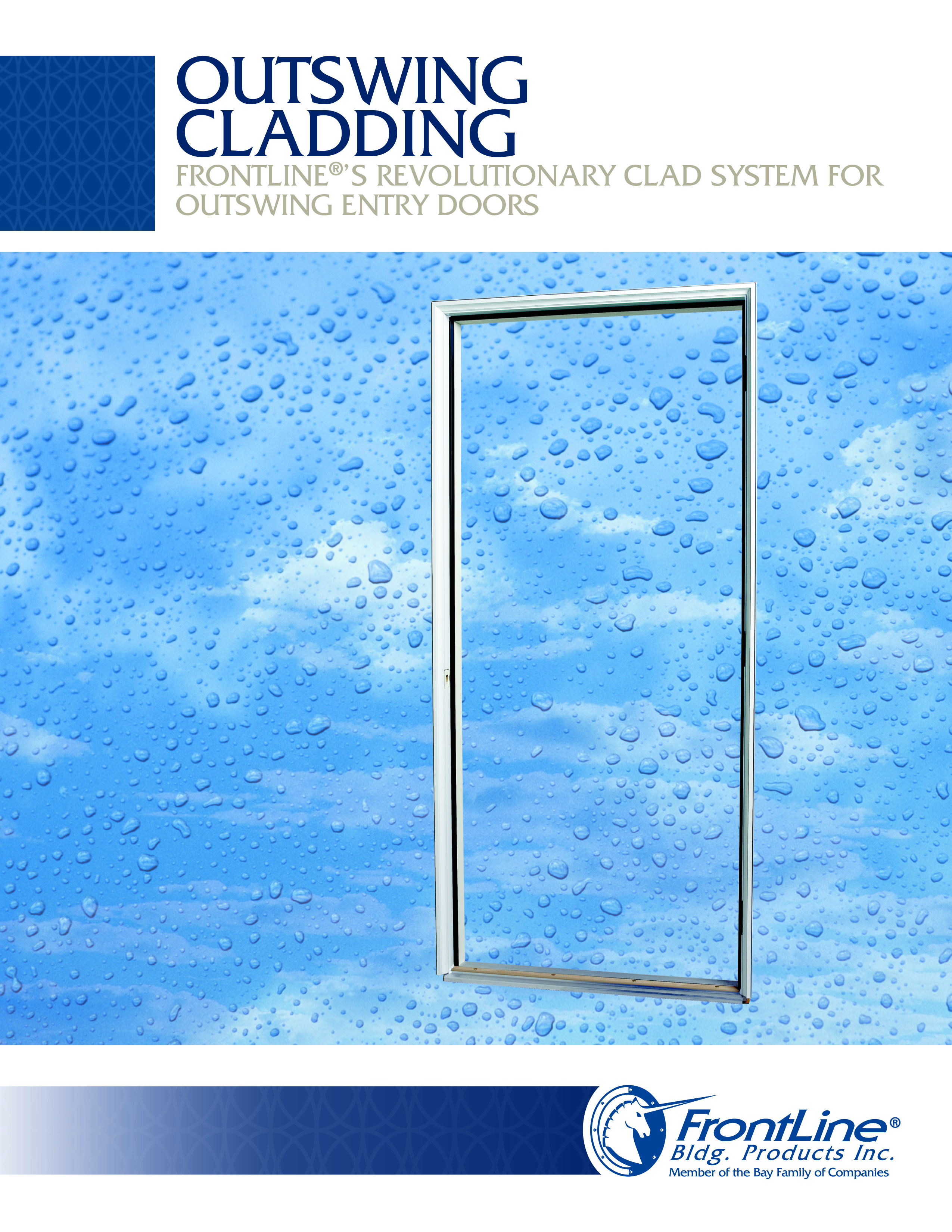 Outswing Cladding Sell Sheet