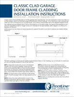 Classic Clad Installation Instructions